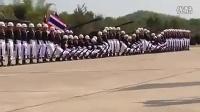 令人惊叹的泰国阅兵