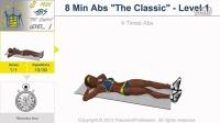8 Mins Abs Workout Level 1