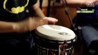 左轮非洲鼓教程NO.13《伍佰的挪威的森林》手鼓自学入门教学