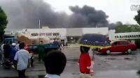 江苏昆山工厂爆炸现场