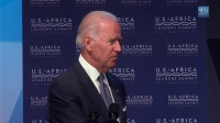 拜登副总统在首届美国-非洲领导人峰会上致辞