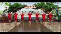 游城广场舞 你是我今生的依靠 编舞王梅 演示彩蝶翩翩 演唱刘恺名