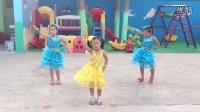 莱芜沙埠子幼儿园神曲小苹果儿童舞蹈