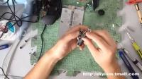 赛钛客RAT3鼠标拆解微动更换
