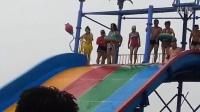 欢乐水世界滑梯