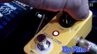 MOOER YELLOW COMP VS EBS MUTIC COMP压缩单块效果器对比试听