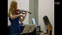 Aliona Cigulea   classical violin pieces