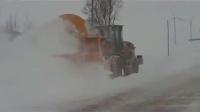 老外大马力自带动力扬雪机