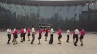 山东红红儿广场舞十四步双人舞