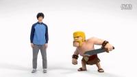山花分享:部落战争(Clash of Clans)日本广告野蛮人篇