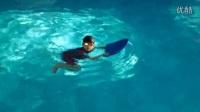 蛙泳:3.5游进中,为什么会沉?