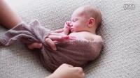 花园宝贝精选3 国外摄影老师婴儿包布使用技巧