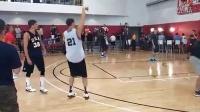 Kyle Korver vs Klay Thompson - 3 point shootout - USA Camp 2014