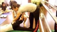 妍姿经络瑜珈让长短腿和骨盘高低回正