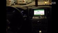 英菲尼迪q50 G25原车屏幕升级GPS触摸手写导航模块 长沙株洲邵阳支持上门安装
