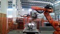 思尔特机器人电梯层门板搬运、点焊及弧焊