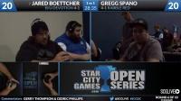 SCGDC - Standard - Round 6b - Gregg Spano vs J