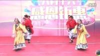 兰州一米阳光舞蹈队锅庄表演