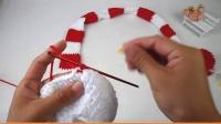 【泡泡编织】 第47集 宝宝大尾巴艺术帽子  泡泡编织 视频教程 织毛衣