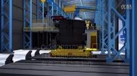 工业动画-生产线流程三维动画-炼钢厂钢材生产线3D动画-巨浪文化