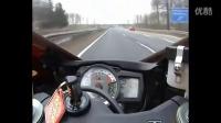 铃木GSXR 600摩托车最高速测试