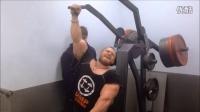 【豹哥健美】肌肉巨兽Alexey Lesukov 2014年非赛季训练