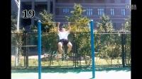 无比强悍的引体向上——北方工大极限健身团队2014.9