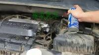 冷水汽车之自助清洗节气门视频