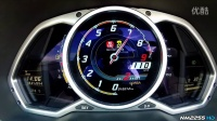 兰博基尼 Aventador Roadster LP700-4  0-200km加速测试