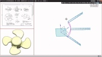 第505讲:NX9.0建模实例:叶轮曲面造型案例分享!(高级)