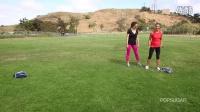 美女教你怎样在户外运动减肥系列(三)