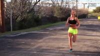 美女教你怎样在户外运动减肥系列(一)