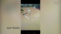 【拍客】实拍9.13邻水洪灾武警官兵奋力解救受困群众