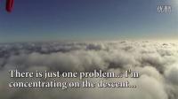 DJI F550 四轴飞行器 多旋翼 穿云 云层飞行视频