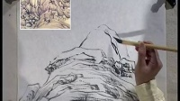 水墨山水画临摹技法