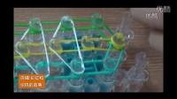 彩虹和织机的故事-三色皮筋手链编织教程
