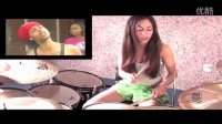 BED INTRUDER SONG - DRUM COVER BY MEYTAL COHEN