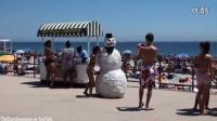 诡异雪人海滩历险记!你意想不到的惊喜!