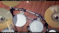 各种电子鼓 加右3鼓变12面高实用电子架子鼓独奏中国范