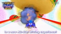 SEGA索尼克赛车SONIC 儿童赛车游戏机