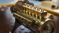 Construction of a W-18 Engine 史上最小 手工组装的W18发动机