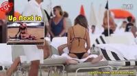 YouTube超级热模在海滩上的那些事