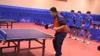 袁义兴训练教学视频(第二集:反手及步伐的训练)