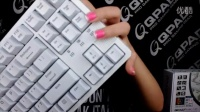 QPAD MK-10 RGB背光键盘外观+背光效果介绍