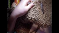 明月的棒针艺术 超萌小熊斗篷 第一集  零基础 编织教学  教程 原创高清 视频教程 九色鹿  儿童毛衣教学 超详细