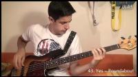 【转自Youtube】100 Amazing Bass Lines