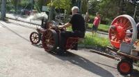 微型伯勒尔蒸汽机车牵引--瑞士
