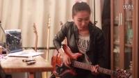超帅牛人!北京帅气女吉他手翻弹Eric Johnson吉他名曲<S.R.V> cover by 龚钊Asa