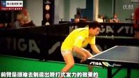 《湿父教球》第7集:马龙反手前冲下旋球技术_乒乓球弧圈球教学视频教程