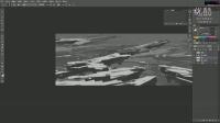 《飞船废墟》-【火源兄弟工作室】bigballgao概念设计视频教程